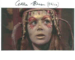 Gillian Brown ('Ohica' in The Brain of Morbius) Signed 10 x 8 Photograph # 10062